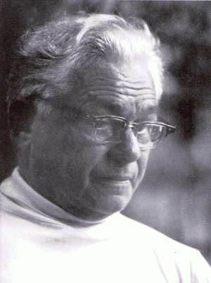 A portait of Joseph Pilates