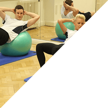 1:1Pilates session with instructor and member