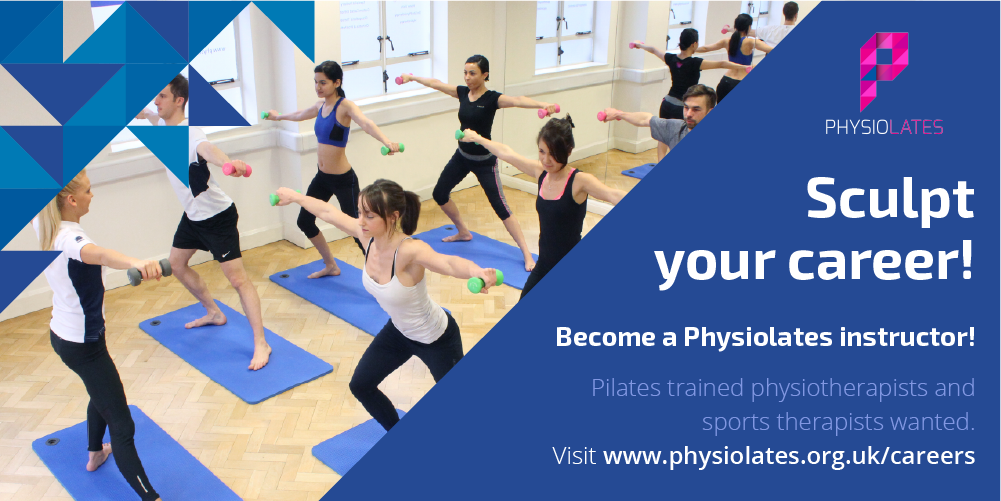 Sculpt your career, Become a Physiolates instructor, visit www.physiolates.org.uk/careers
